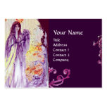 QUEEN GUINEVERE MONOGRAM BUSINESS CARD TEMPLATES