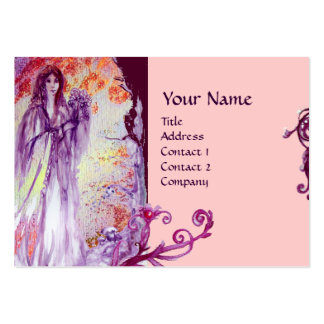QUEEN GUINEVERE MONOGRAM LARGE BUSINESS CARD