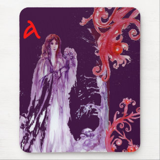 QUEEN GUINEVERE MONOGRAM MOUSE PAD