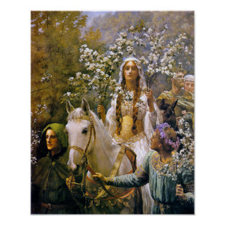Queen Guinevere Poster
