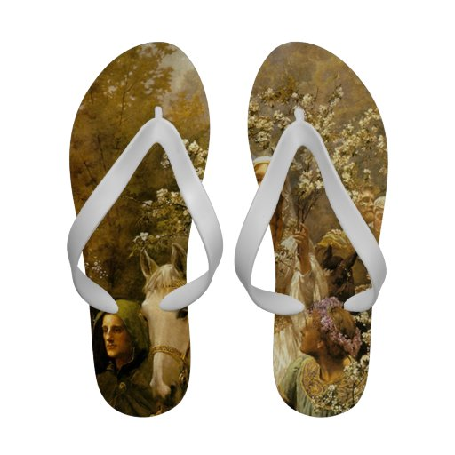 Queen Guinevere's Maying Sandals