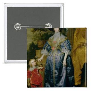 Queen Henrietta Maria and her dwarf Button