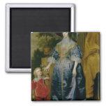 Queen Henrietta Maria and her dwarf Magnet