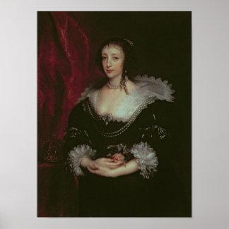 Queen Henrietta Maria Poster