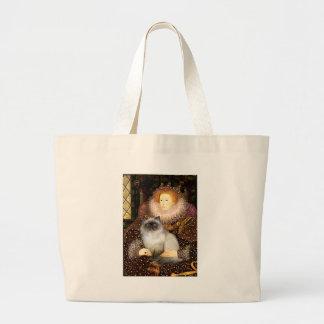 Queen- Himalayan cat 7 Canvas Bag