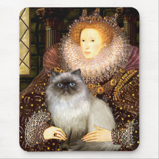 Queen- Himalayan cat 7 Mouse Pad
