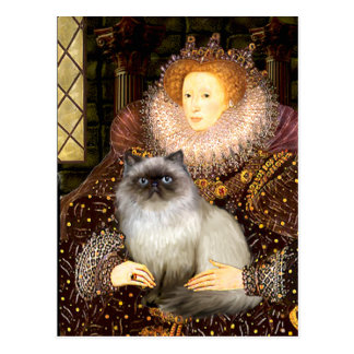 Queen- Himalayan cat 7 Postcard
