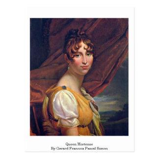 Queen Hortense By Gerard Francois Pascal Simon Post Card