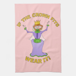 Queen | If the crown fits, wear it Hand Towels