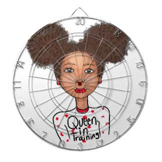 Queen in Training Dart Boards