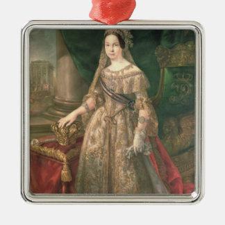 Queen Isabella II  1843 Metal Ornament