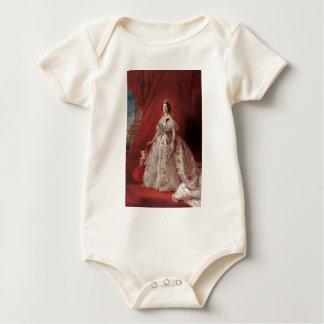 Queen Isabella II of Spain Baby Bodysuit
