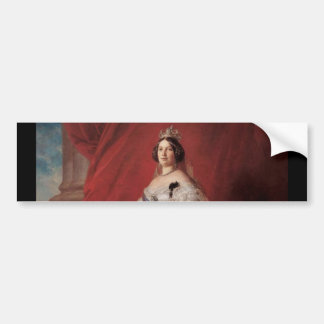 Queen Isabella II of Spain Car Bumper Sticker