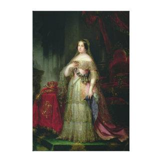 Queen Isabella II  of Spain Canvas Print
