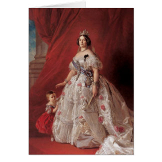 Queen Isabella II of Spain Greeting Card