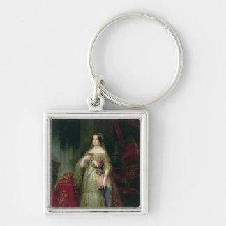 Queen Isabella II  of Spain Keychain