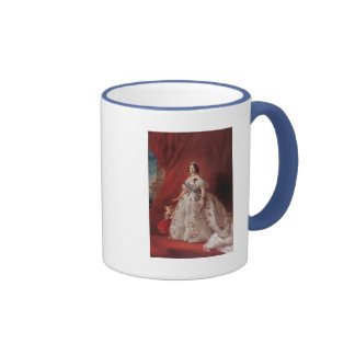 Queen Isabella II of Spain Ringer Coffee Mug