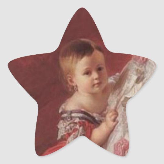 Queen Isabella II of Spain Star Sticker