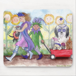Queen Isabella & Jester Todd Mouse Pad
