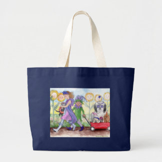 Queen Isabella & Jester Todd Tote Canvas Bags