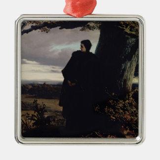Queen Isabella's Farewell to Transylvania, 1863 Metal Ornament