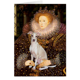 Queen - Italian Greyhound 7 Card