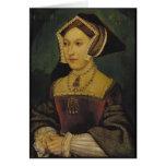Queen Jane Seymour Greeting Card