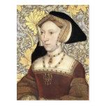 Queen Jane Seymour  - Portrait Postcard