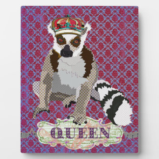 Queen Julian Name Plate Vintage Damask Plaque
