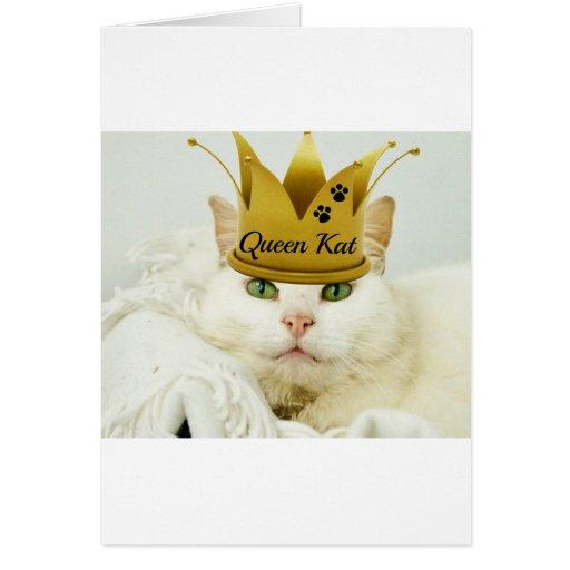 Queen Kat Greeting Cards