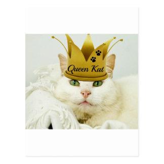 Queen Kat Postcard