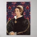 Queen Katherine Howard of  England Portrait Poster