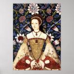Queen  Katherine Parr of England Portrait Poster