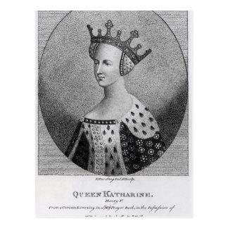 Queen Katherine  pub. in 1792 Postcard