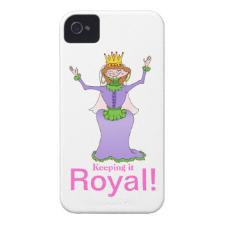 Queen, Keeping it Royal iPhone 4 Case-Mate Case