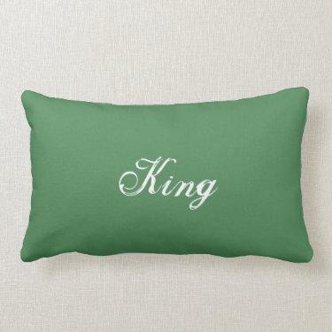 Queen/King - reversible lumbar pillow