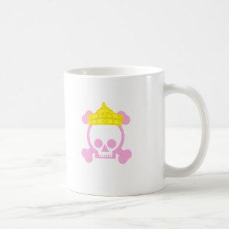 queen king skull coffee mugs