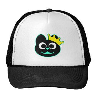 Queen Kitty Green Trucker Hat