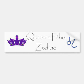 queen leo bumper sticker