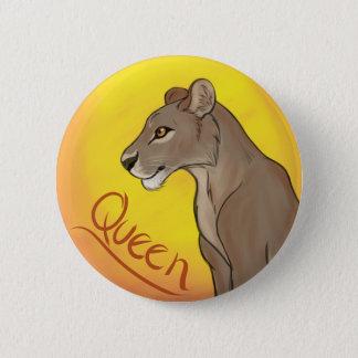 Queen Lioness Button