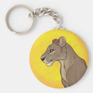 Queen Lioness Keychain
