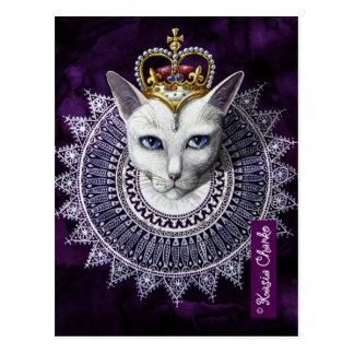 Queen Liz Postcard Kasia Charko