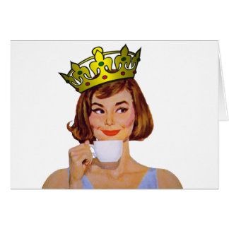 queen-logo-large greeting card