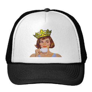 queen-logo-large mesh hat