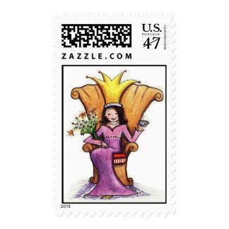 Queen Lula Bell Stamp