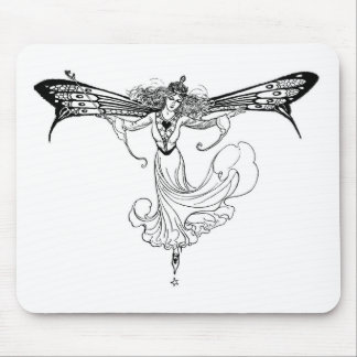 Queen-Mab-no-words Mouse Pad