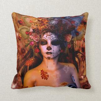 Queen Mab Throw Pillow