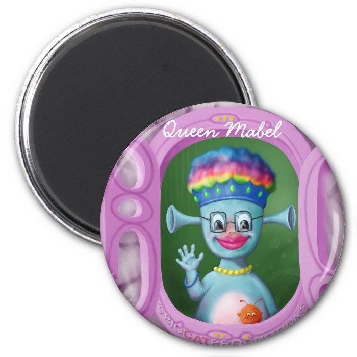 Queen Mabel & Cedric 2 Inch Round Magnet