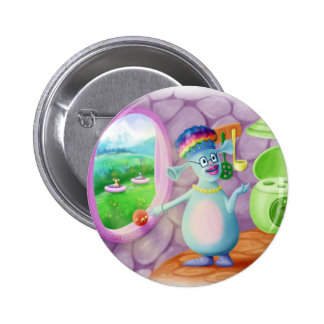 Queen Mabel & Cedric Pinback Button