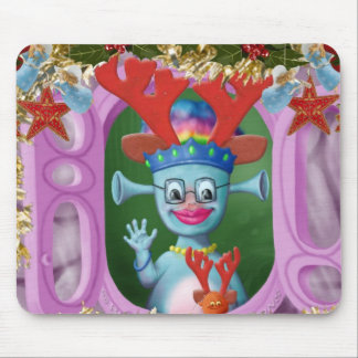 Queen Mabel & Cedric. Merry Christmas! Mouse Pad